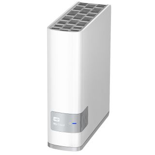 Product image of WD My Cloud (2TB) USB 3.0 Gigabit Ethernet NAS Hard Drive (External)