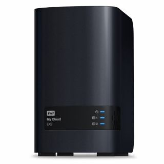 Product image of WD My Cloud EX2 (2 x 2TB) 4TB 2 x Bay High Performance Cloud Storage Server