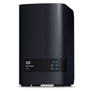 Product image of Western Digital My Cloud EX2 (2 x 5TB) 10TB 2 x Bay High Performance Cloud Storage Server