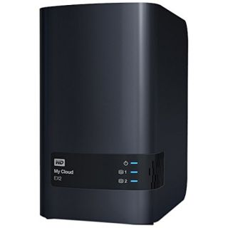 Product image of WD My Cloud EX2 (2 x 6TB) 12TB 2 x Bay High Performance Cloud Storage Server