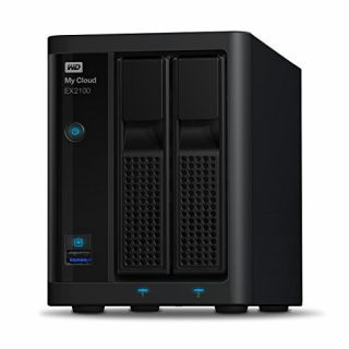 Product image of WD - EXT HDD DESKTOP MYCLOUD EX2100 4TB 3.5IN 2 BAY 2 X 2TB IN