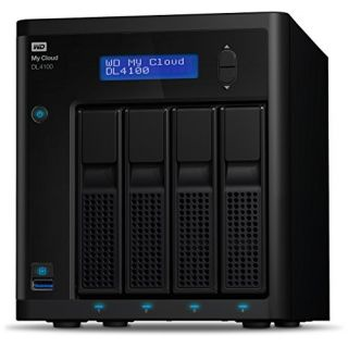 Product image of WD My Cloud DL4100 (4 x Diskless) 4 Bay 3.5 inch Desktop NAS External (Black)