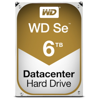 Product image of WD SE 6TB Small Medium Enterprise 3.5 inch Desktop 7200rpm 128MB SATA 6GB/s Internal HDD for Servers & NAS