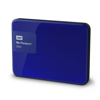 Product image of WD My Passport Ultra 500GB Portable USB 3.0 External Hard Drive (Noble Blue)