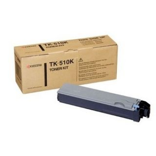 Product image of Kyocera Mita TK-510K Black (Yield 8,000 Pages) Toner Cartridge for FS-C5020N, FS-C5025N, FS-C5030N Colour Printers
