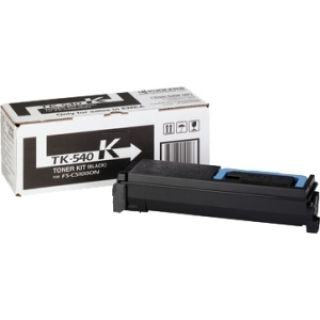 Product image of Kyocera Mita TK-540K Black (Yield 5,000 Pages) Toner Cartridge for FS-C5100DN Colour Printers