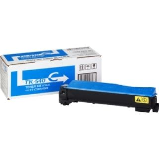 Product image of Kyocera Mita TK-540C Cyan (Yield 4,000 Pages) Toner Cartridge for FS-C5100DN Colour Printers