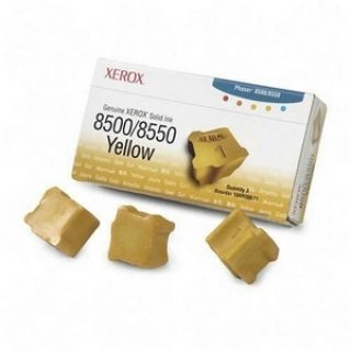 Product image of Xerox ColorStix Yellow (Yield 3,000 Pages) Solid Ink Sticks Pack of 3
