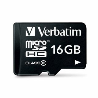 Product image of Verbatim (16GB) Micro SDHC - Class 10 with Adapter