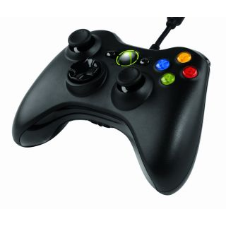 Product image of Microsoft Xbox 360 Wired Controller for Windows (Black)
