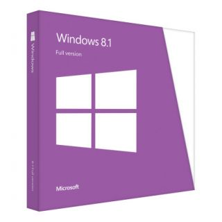 Product image of Microsoft Windows 8.1 64/32 bit European 1 Pack DVD