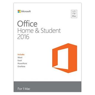 Product image of Microsoft Office Mac Home Student 2016 Eurozone Medialess
