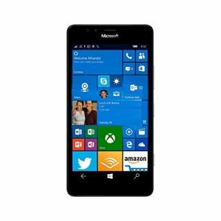 Product image of Microsoft Nokia Lumia 950 (5.2 inch Display) 32GB Memory Windows 10 Front Camera Qualcomm Snapdragon 808 1800 MHz (Black)