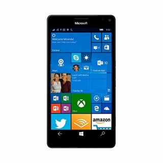 Product image of Microsoft Nokia Lumia 950 (5.2 inch Display) 32GB Memory Windows 10 Front Camera Qualcomm Snapdragon 808 1800 MHz (White)