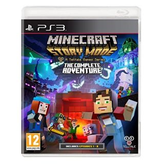 Product image of Minecraft Story Mode: The Complete Adventure PS3