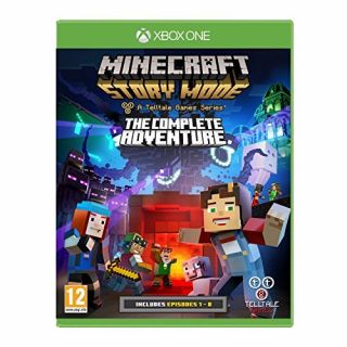 Product image of Minecraft Story Mode: The Complete Adventure XBOX