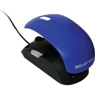 Product image of IRIS SCANNERS IRIScan Mouse 2 Color. All-in-one full-featured scanner and mouse.Scans anything Up to A4. Convert to PDF, Word, Excel. Interchangeable covers ( up to 8 different colors)
