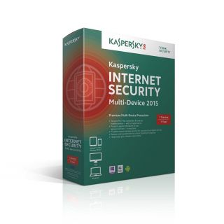 Product image of Kaspersky Lab Internet Security 2017 MD 1 Device 1 Year Retail UK FFP