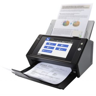 Product image of Fujitsu N7100 (A4) Colour Network Duplex Scanner 8.4 inch TFT Display 25ppm 600dpi