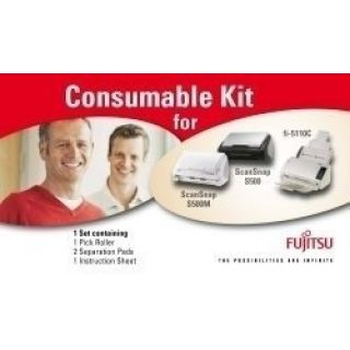 Product image of Fujitsu Scanner Consumable Kit (Yield 400,000 Scans) for Fujitsu Fi-6140/fi-6240/6130/6230 Scanners