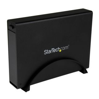 Product image of Startech USB 3.0 3.5 inch Trayless External SATA III HDD Enclosure with UASP - Black