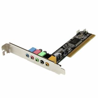 Product image of StarTech 5.1 Channel PCI Surround Sound Card Adapter