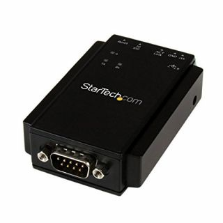 Product image of StarTech 1 Port RS-232 Serial to IP Ethernet Device Server - DIN Rail Mountable