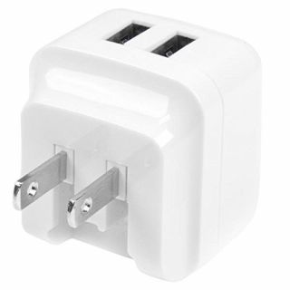 Product image of StarTech Dual-port USB Wall Charger International Travel 17W/3.4A (White)