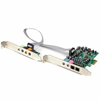 Product image of StarTech 7.1 Channel Sound Card - PCI Express, 24-bit, 192KHz