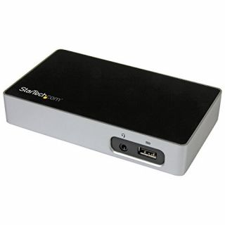 Product image of STARTECH - CONSUMER IO UNIVERSAL USB 3.0 LAPTOP DOCK FOR HOT DESKS HDMI VIDEO