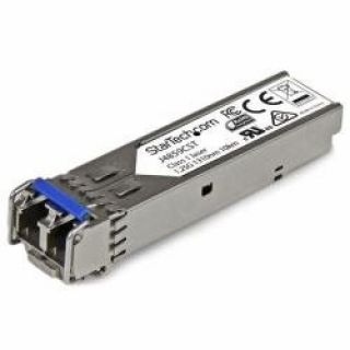 Product image of StarTech Gigabit Fiber SFP Transceiver Module - HP J4859C Compatible - SM/MM LC with DDM - 10km (6.2 mi) / (550m 1804 feet)