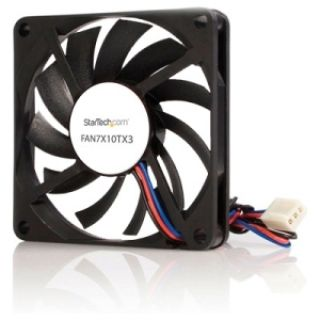 Product image of StarTech TX3 Dual Ball Bearing Replacement Fan - CPU Cooler fan - 70 mm - black
