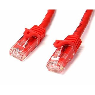 Product image of StarTech (7m) Cat6 Snagless UTP Gigabit Network Patch Cable RJ-45/RJ-45 (Red)