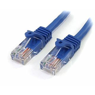 Product image of StarTech (5m) Cat5e Snagless UTP Gigabit Network Patch Cable RJ-45/RJ-45 (Blue)