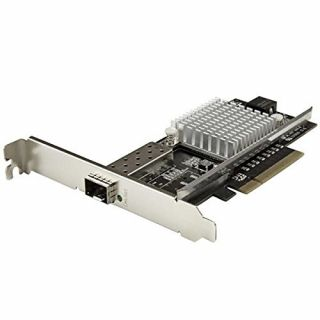 Product image of StarTech 1-Port 10G Open SFP+ Network Card - PCIe - Intel Chip - MM/SM