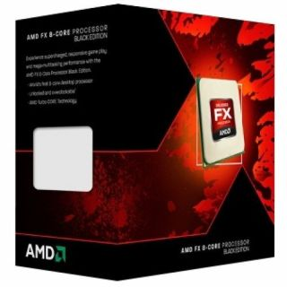 Product image of AMD FX 8-Core (FX-9370) 4.4GHz Processor (Black Edition) - Retail