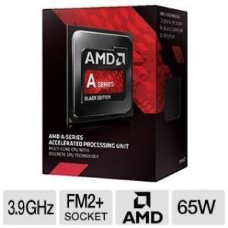 Product image of AMD A6 Series Dual Core (A6-7400K) 3.5GHz Accelerated Processor Unit (APU)1MB AMD Radeon R5 Graphics Card (Black Edition)