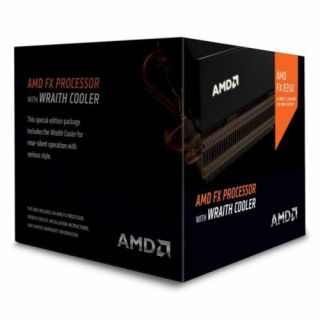 Product image of AMD FD8350FRHKHBX AMD FX-8350 CPU with Wraith Cooler AM3+ 125W 4.0GHz 16MB Cache 32nm Black Edition