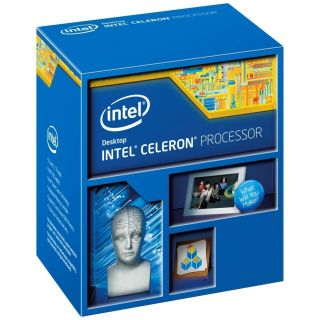 Product image of Intel Celeron (G1840) 2.8GHz Socket LGA1150 Processor with 2MB L3 Cache 5 GT/s DMI Bus Speed (Boxed)