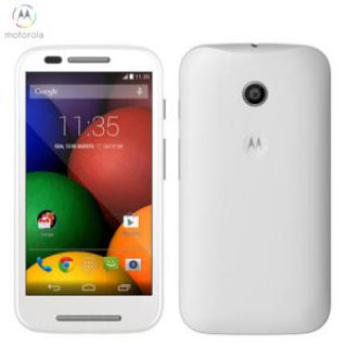 Product image of Motorola MOTO E (4.3 inch Touch) Mobile Phone Dual-Core A7 (1.2GHz) 4GB Wi-Fi Bluetooth Camera Android 4.4 (White) - SIM Free