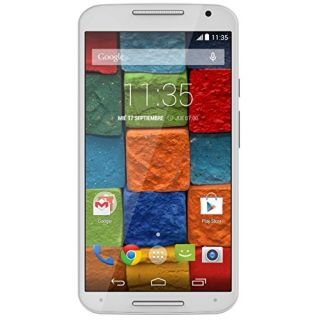 Product image of Motorola MOTO X 2nd Generation (5.2 inch Touch) Mobile Phone Snapdragon (2.5GHz) 2GB-RAM 16GB Wi-Fi Bluetooth Camera Android (White/Bamboo)*