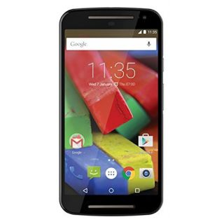 Product image of Motorola MOTO G 2nd Generation (5 inch Touch) 4G Mobile Phone Snapdragon (1.2GHz) 1GB-RAM 8GB Wi-Fi WWAN Bluetooth Camera Android 5.0 (Black) - SIM Free