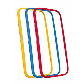 Product image of Motorola Bumper Cover Case (Assorted) for Moto E 2nd Gen Smartphones (1 x Pack of 3)