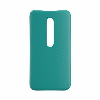 Product image of Motorola Shell Cover Case (Turquoise) for Moto G 3rd Gen Smartphones