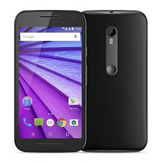 Product image of Motorola MOTO G 3rd Generation (5 inch Touch) Mobile Phone Qualcomm Snapdragon 410 (1.4GHz) 1GB 8GB Wi-Fi WWAN Bluetooth Camera Android  (Black)