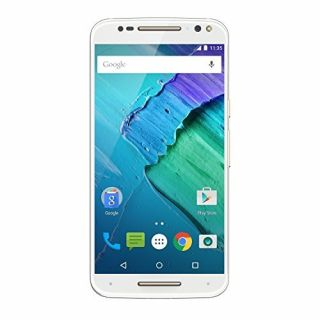 Product image of Motorola MOTO X Style (5.7 inch Touch) Mobile Phone Snapdragon 808 (1.8GHz) 3GB-RAM 32GB Wi-Fi Bluetooth Camera Android  (White)