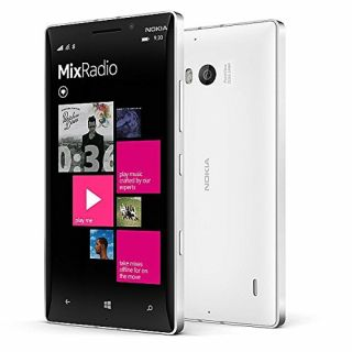Product image of Nokia Lumia 930 (5 inch) Smartphone Qualcomm Snapdragon 800 Processor 2GB 32GB WLAN BT 20MP Camera Windows Phone OS (White)