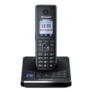 Product image of Panasonic KX-TG8561EB (1.8 inch) TFT DECT Cordless Single Telephone with 100 Name and Number Phonebook (Black)