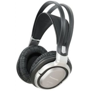 Product image of Panasonic RP-WF950 Wireless Headphones (Silver) with Charging Stand