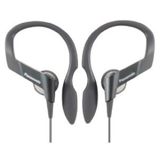 Product image of Panasonic Olympic RP-HS33 Water Resistant Canal Type Headphones (Black) with Sports CLip